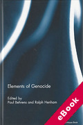 Cover of Elements of Genocide (eBook)