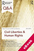 Cover of Routledge Revision Q&A: Civil Liberties and Human Rights 2013-2014 (eBook)