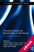 Cover of Transitional Justice and Peacebuilding on the Ground: Victims and Ex-combatants (eBook)