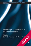 Cover of Reforming the Governance of the Financial Sector (eBook)