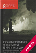 Cover of Routledge Handbook of International Environmental Law (eBook)