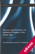 Cover of The Law and Economics of Intellectual Property in the Digital Age: The Limits of Analysis (eBook)