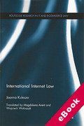 Cover of International Internet Law (eBook)