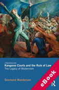 Cover of Kangaroo Courts and the Rule of Law: The Legacy of Modernism (eBook)