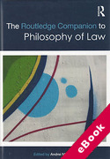 Cover of The Routledge Companion to Philosophy of Law (eBook)