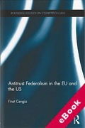 Cover of Antitrust Federalism in the EU and the US (eBook)