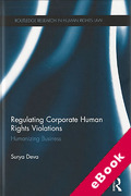 Cover of Regulating Corporate Human Rights Violations: Humanizing Business (eBook)
