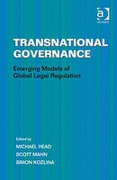 Cover of Transnational Governance: Emerging Models of Global Legal Regulation