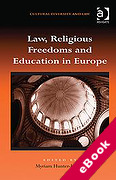 Cover of Law, Religious Freedoms and Education in Europe (eBook)