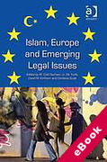 Cover of Islam, Europe and Emerging Legal Issues (eBook)