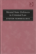 Cover of Mental State Defences in Criminal Law
