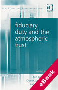 Cover of Fiduciary Duty and the Atmospheric Trust (eBook)