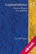 Cover of Legisprudence: Practical Reason in Legislation (eBook)