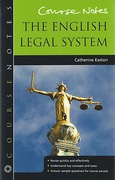 Cover of Course Notes: English Legal System