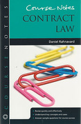 Cover of Course Notes: Contract Law