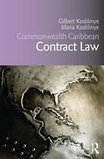 Cover of Commonwealth Caribbean Contract Law