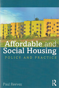 Cover of Affordable and Social Housing: Policy and Practice