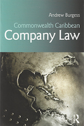 Cover of Commonwealth Caribbean Company Law