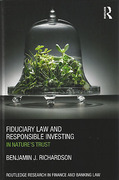 Cover of Fiduciary Law and Responsible Investing: In Nature's Trust
