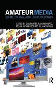 Cover of Amateur Media: Social, Cultural and Legal Perspectives