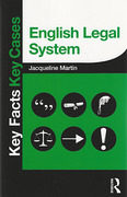Cover of Key Facts Key Cases: English Legal System