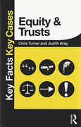 Cover of Key Facts Key Cases: Equity and Trusts