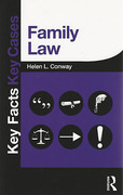 Cover of Key Facts Key Cases: Family Law