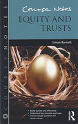 Cover of Course Notes: Equity and Trusts