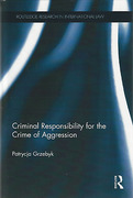 Cover of Criminal Responsibility for the Crime of Aggression