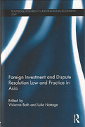 Cover of Foreign Investment and Dispute Resolution Law and Practice in Asia