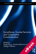 Cover of Surveillance, Counter-Terrorism and Comparative Constitutionalism (eBook)