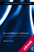 Cover of Law and Religion in Indonesia: Faith, Conflict and the Courts (eBook)