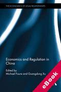 Cover of Economics and Regulation in China (eBook)
