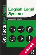Cover of Key Facts Key Cases: English Legal System (eBook)