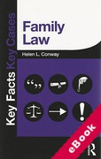 Cover of Key Facts Key Cases: Family Law (eBook)