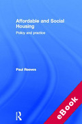 Cover of Affordable and Social Housing: Policy and Practice (eBook)