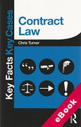 Cover of Key Facts Key Cases: Contract Law (eBook)