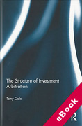 Cover of The Structure of Investment Arbitration (eBook)