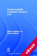 Cover of Commonwealth Caribbean Contract Law (eBook)