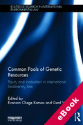 Cover of Common Pools of Genetic Resources: Equity and Innovation in International Biodiversity Law (eBook)