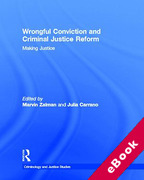 Cover of Wrongful Conviction and Criminal Justice Reform: Making Justice (eBook)