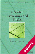 Cover of A Global Environmental Right (eBook)