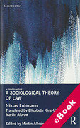 Cover of A Sociological Theory of Law (eBook)