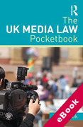 Cover of The UK Media Law Pocketbook (eBook)