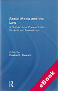 Cover of Social Media and the Law: A Guidebook for Communication Students and Professionals (eBook)