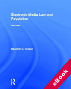 Cover of Electronic Media Law and Regulation (eBook)