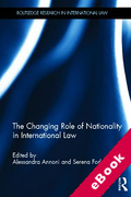 Cover of The Changing Role of Nationality in International Law (eBook)