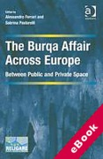 Cover of The Burqa Affair Across Europe: Between Public and Private Space (eBook)