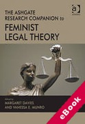 Cover of The Ashgate Research Companion to Feminist Legal Theory (eBook)