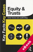 Cover of Key Facts Key Cases: Equity and Trusts (eBook)
